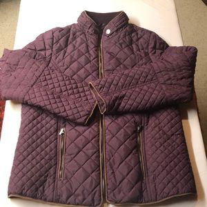 Lightly Quilted petite nylon jacket